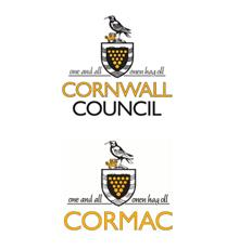 Cornwall Council and Cormac logos